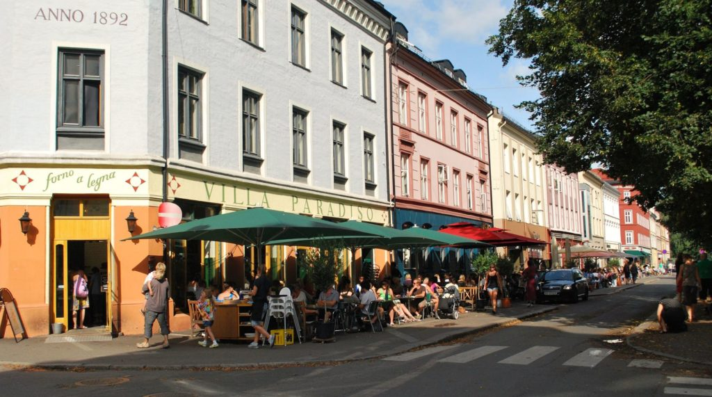 The Greenwich Village of Oslo