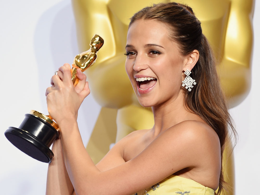 Swedish Tomb Raider Star Alicia Vikander aka Mrs. Google