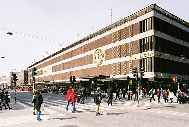 Stockholm's Shopping Centers