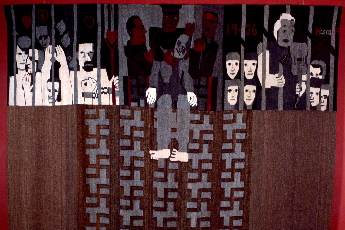 Woven Politics by a Norwegian Artist