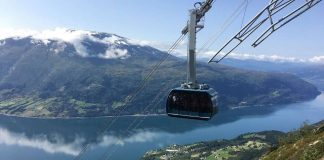 One of the World's Great Lifts – in Norway