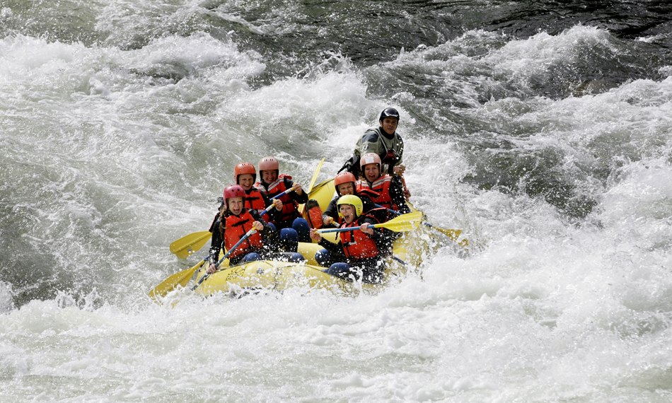 Whitewater rafting in Norway