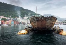 Roald Amundsen's Maud has Returned to Norway