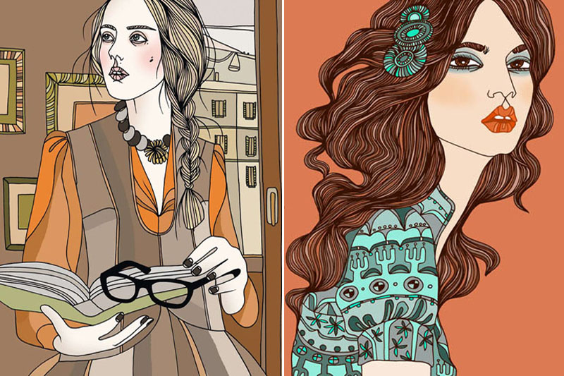 Swedish Illustrator Documenting Women