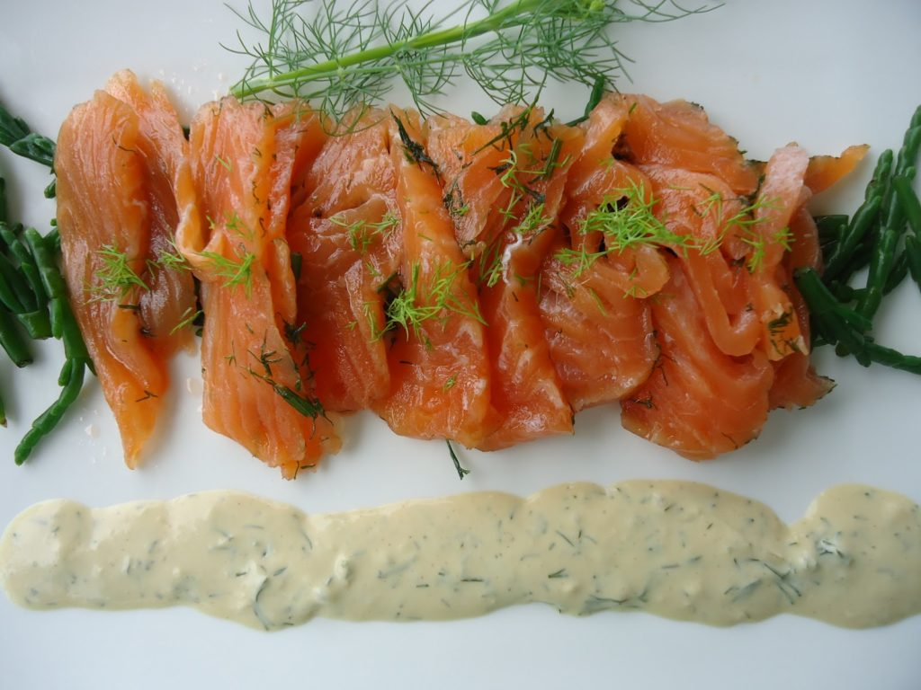 Scandinavian Gravad Fish