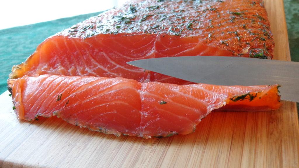 Scandinavian Gravad Fish