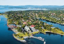 The Bygdøy Peninsula in Oslo
