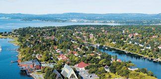 The Bygdøy Peninsula in Oslo