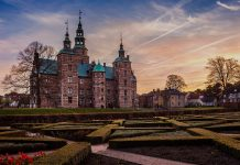 Botanical Gardens and Rosenborg Castle in Copenhagen