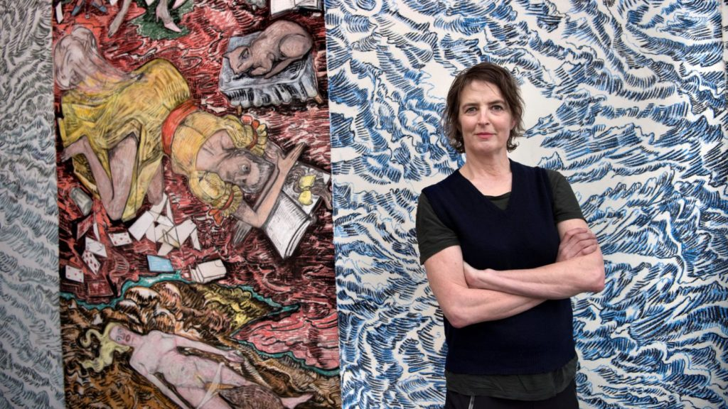 Norwegian Artist Vanessa Baird made the Nobel Peace Prize Diploma 2018