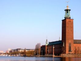 The City Hall in Stockholm
