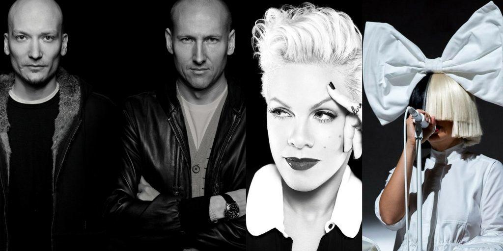 Norwegian Songwriting Star Duo in Los Angeles