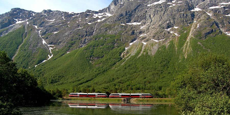 The Rauma Railway, Norway