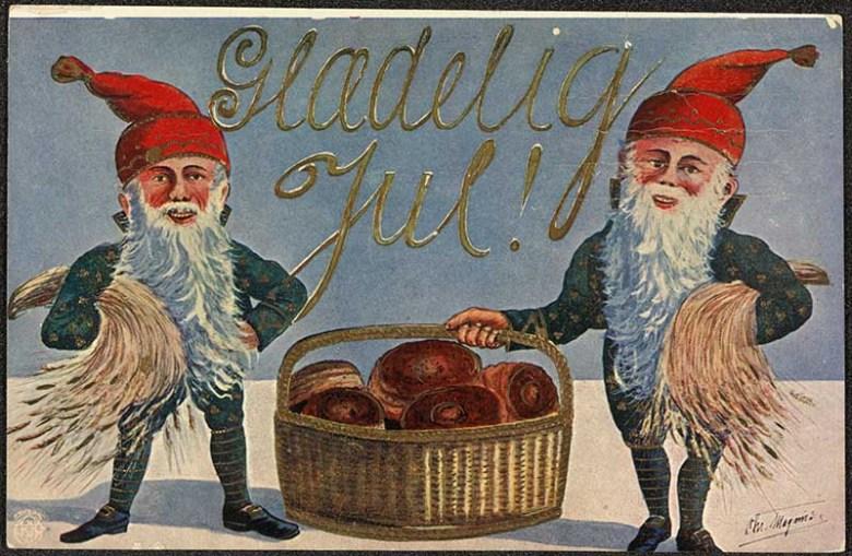 The Scandinavian Christmas Card History