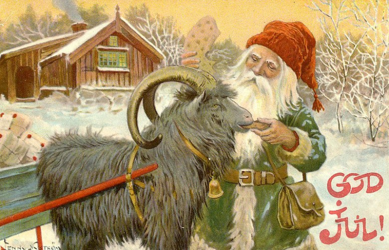 The Scandinavian Christmas Card History