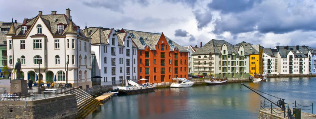 Ålesund, Norway- a fairytale town with Jugendstil architecture
