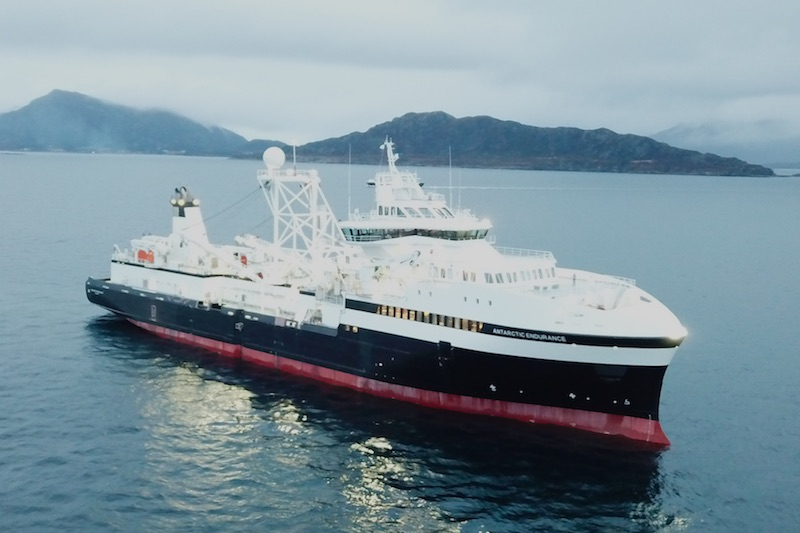 New Krill-harvesting Vessel Launched in Norway