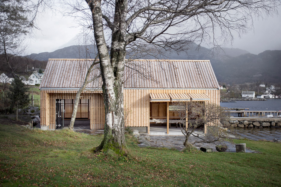 From Old Norwegian Boathouse to Glowing Wooden Summerhouse