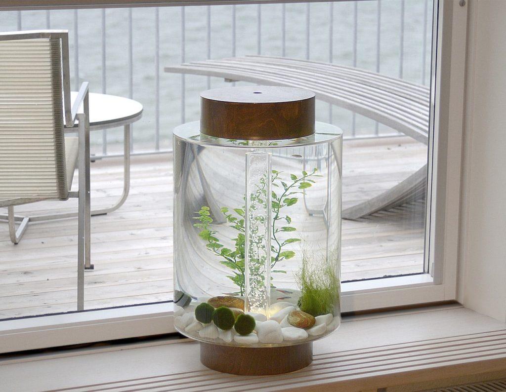 Practical Swedish Aquarium for Small Homes