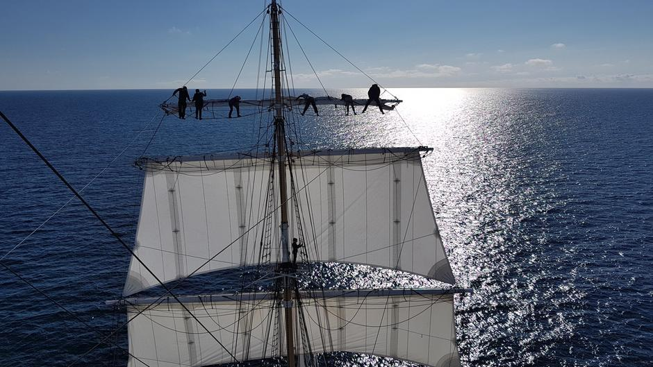 The Norwegian Tall Ship Statsraad Lehmkuhl