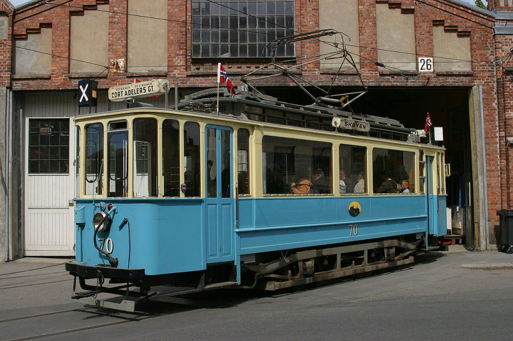 By Tramcar in Oslo
