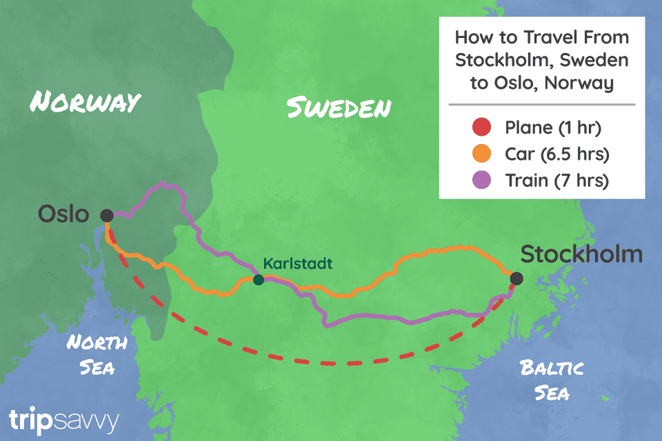 Stockholm – Oslo By Train: Six Hours