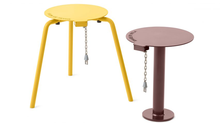 Swedish Coin-operated Share Stool