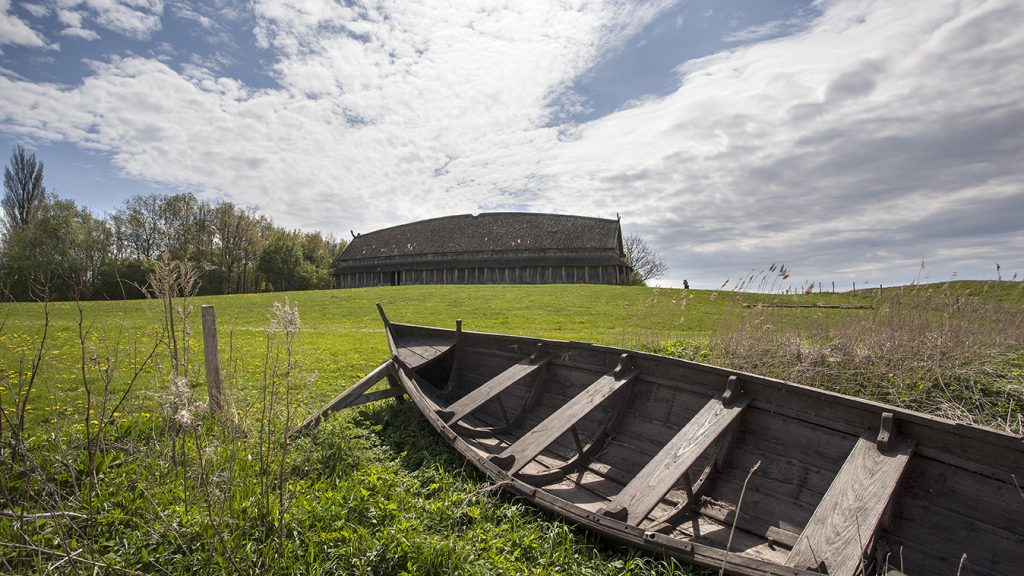 The Danish Viking town