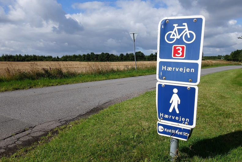On Foot or by Bike on the Oxen Trail in Denmark