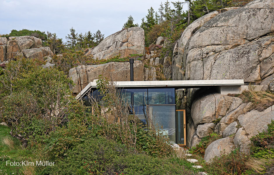 The Buttonhole Cabin in Norway
