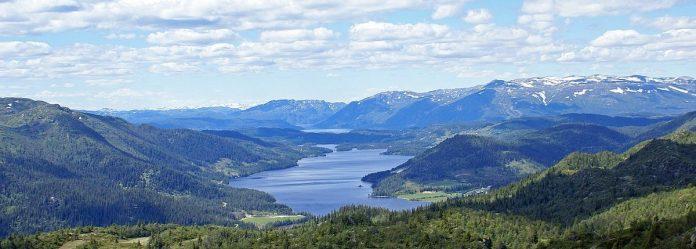 The Beautiful Rural Telemark Region in Norway