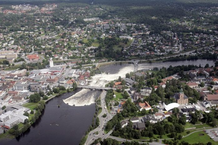 The Silver City in Norway