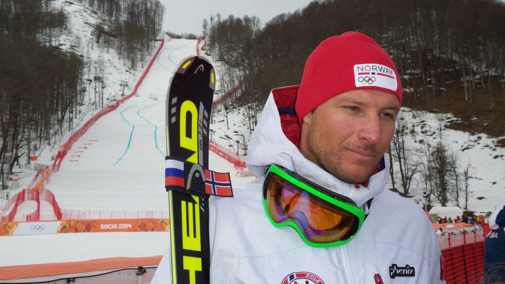 Portrait Of A Retired Norwegian Ski Racer