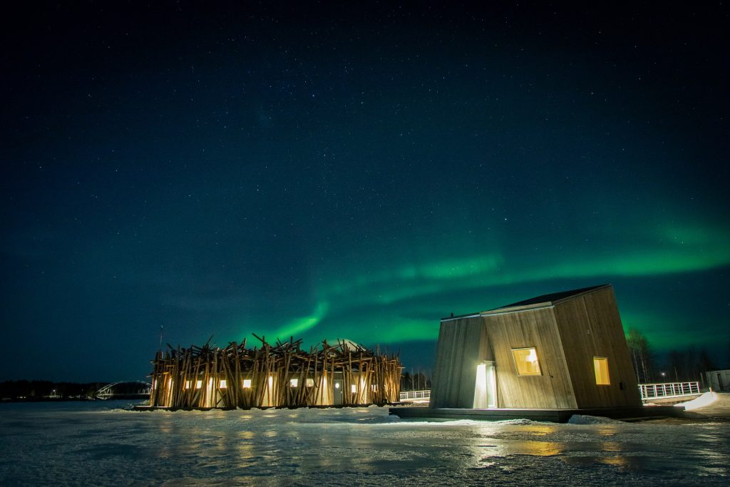 New Floating Hotel Opened in Northern Sweden