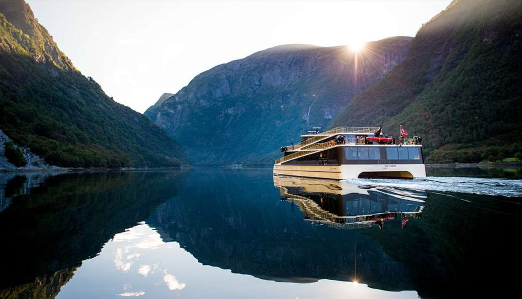 Cruising the Fjords in Norway