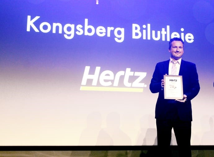 Car Rental Company in Norway Awarded International Prize