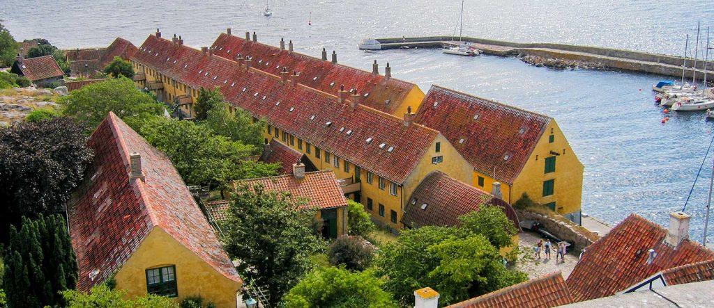 The Danish Fortress in the Sea