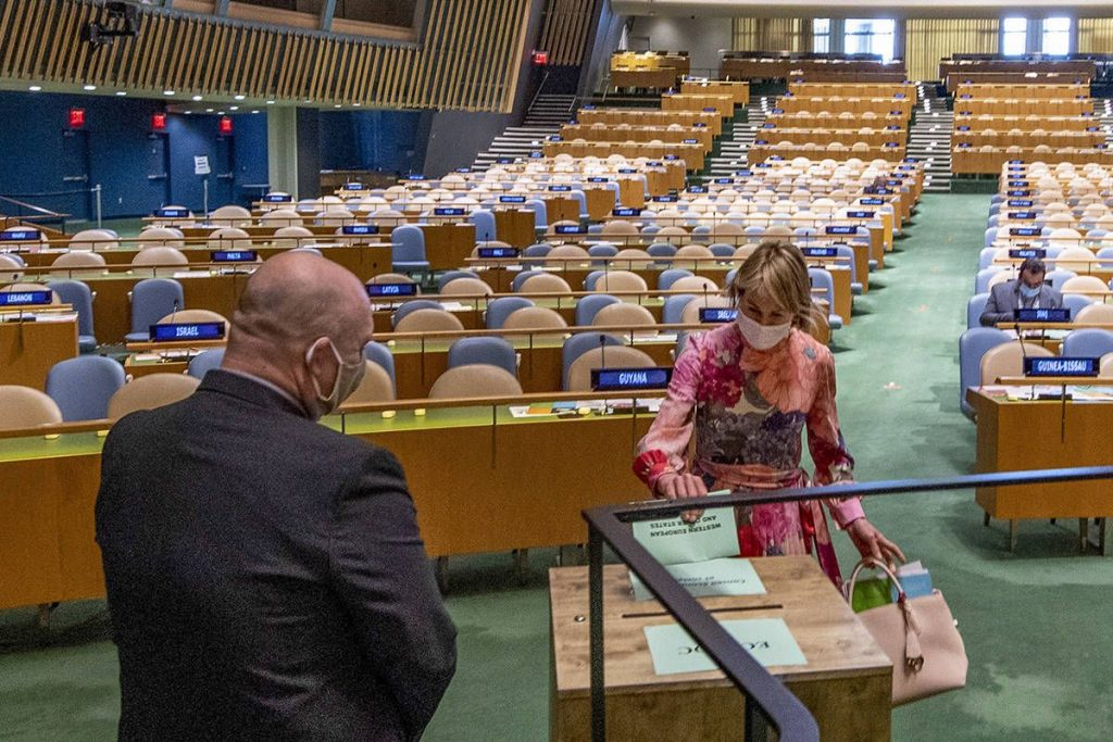 Norway won seat on UN Security Council