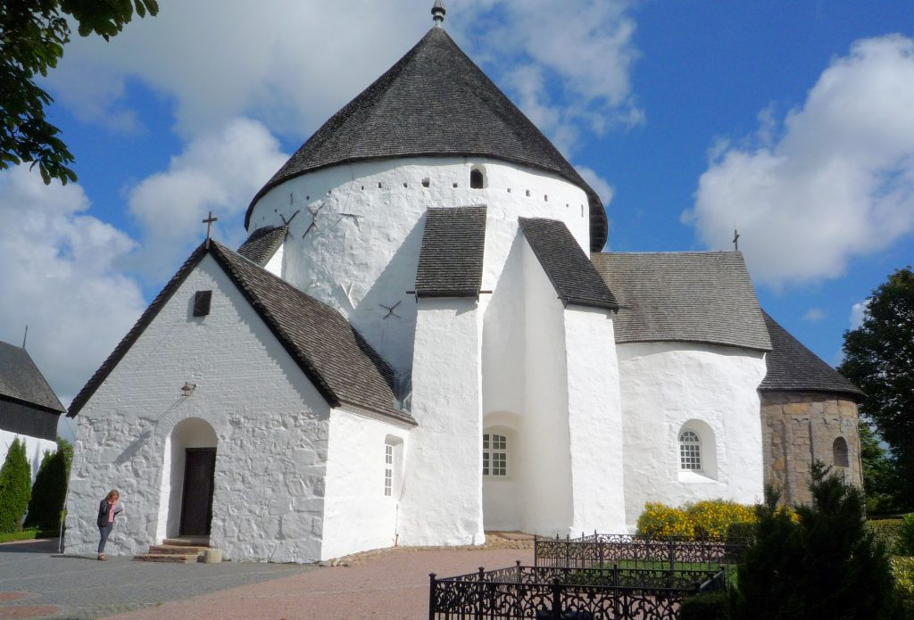 The Round Churches of Bornholm, Denmark