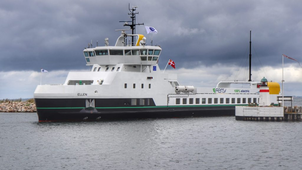 World's Largest E-Ferry Operating in Denmark
