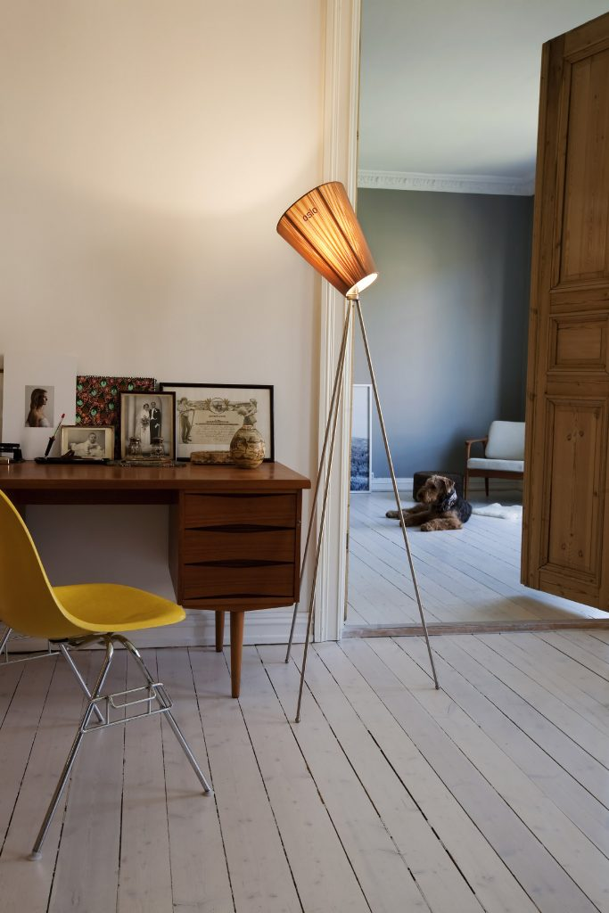 Oslo Wood Lamp in New Colors