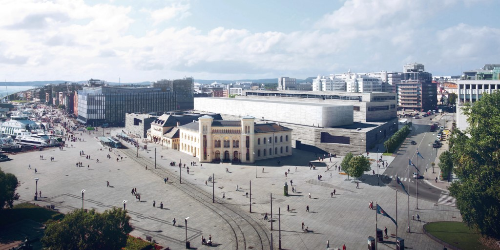 The New National Museum in Oslo