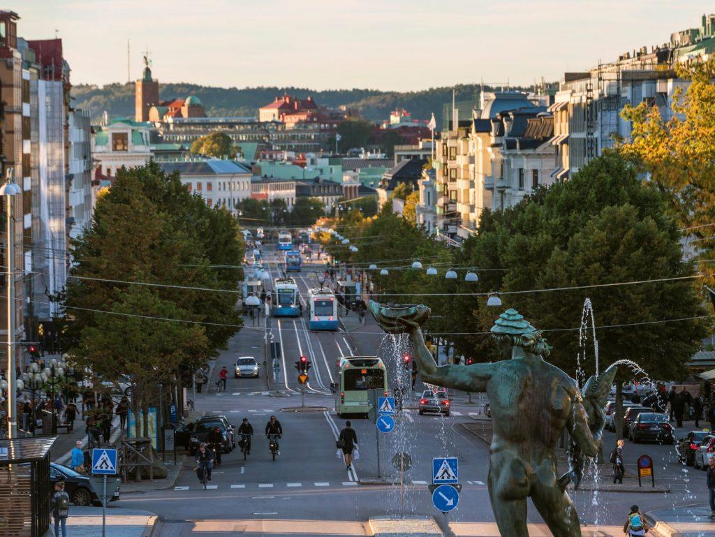 Sociable Gothenburg in Sweden