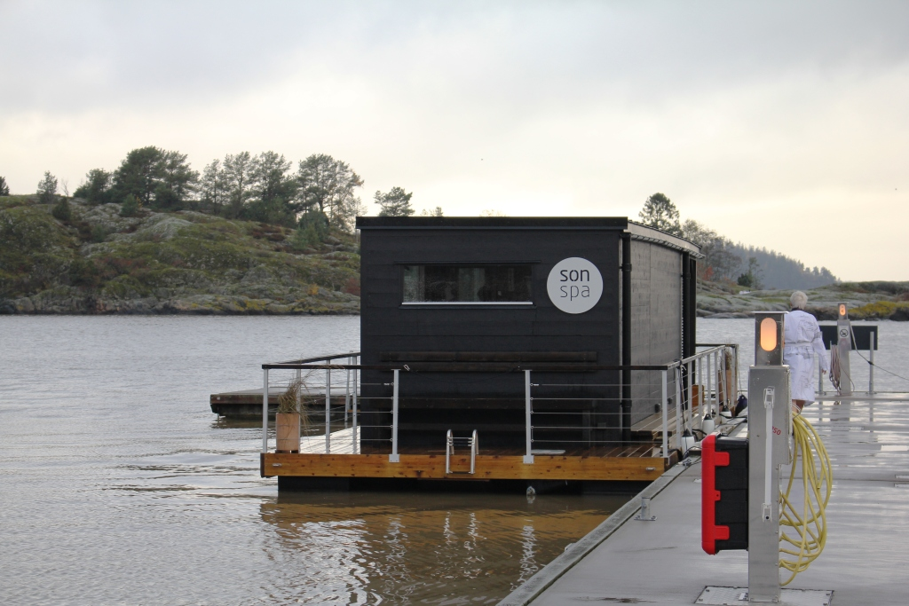 Norwegian Luxury Spa Hotel Directly on the Waterfront