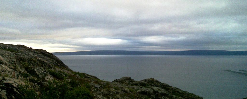 The Norwegian National Tourist Route Leading to the Arctic Ocean