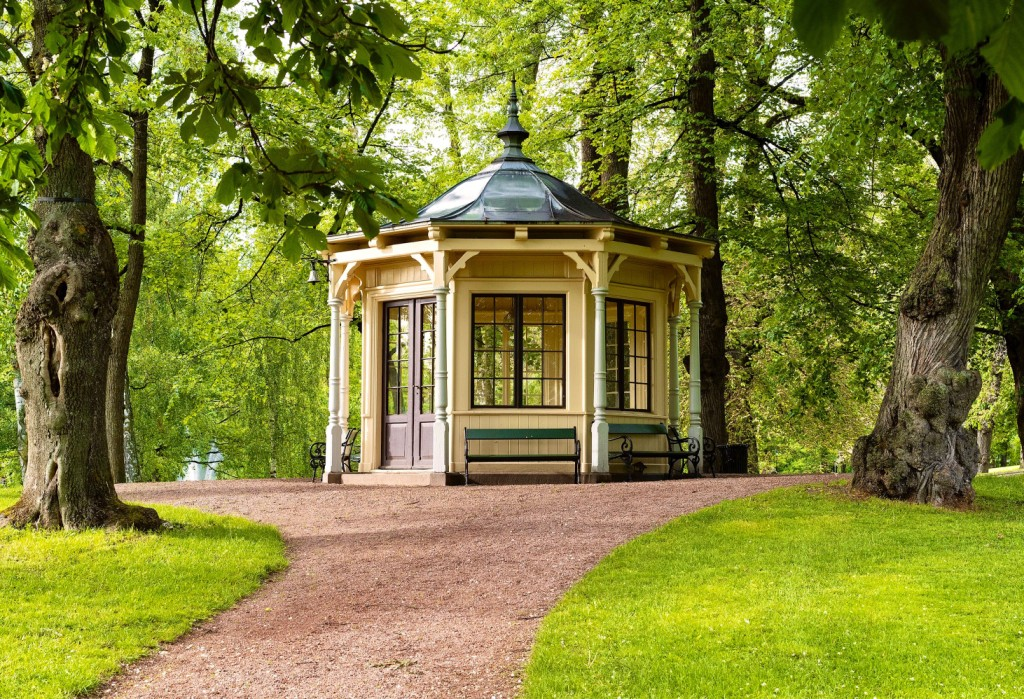 The Norwegian Palace Park in Oslo