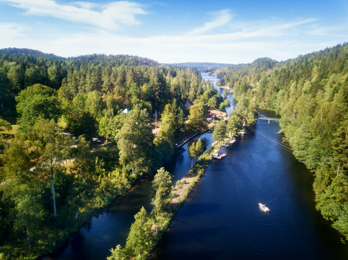 The Great Lakes in Sweden