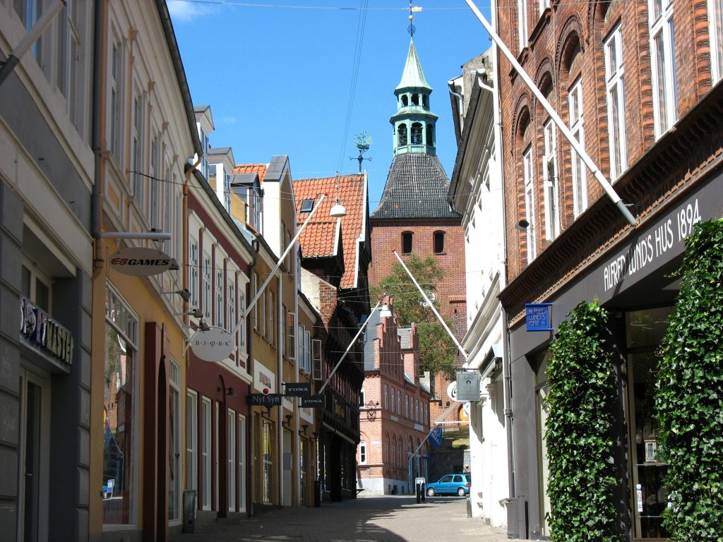 The Two peaceful Towns in South Funen, Denmark