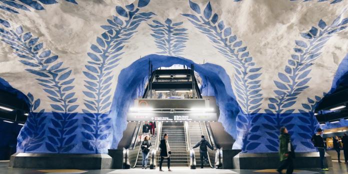 Four Swedish Underground Attractions