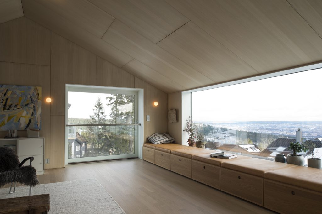 House on a Hill Overlooking the Capital of Norway